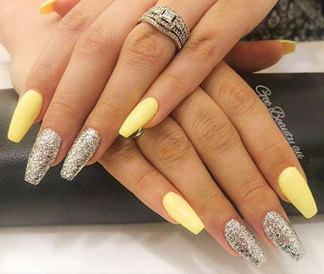manicure close-up